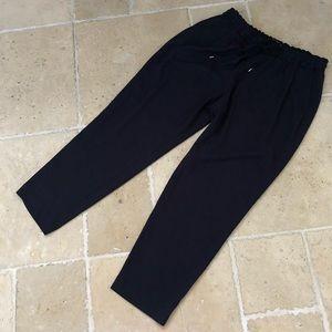 Zara Basic Collection Polyester Silky Sweats Navy